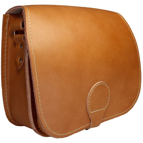 DELARA Jagdtasche Leder braun - Made in Germany
