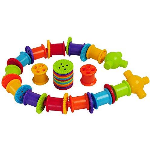 Bigjigs Toys Knöpfe und Spulen Set -