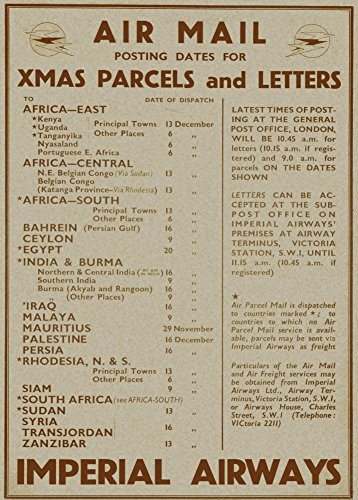 vintage-travel-imperial-airways-posting-dates-for-christmas-parcels-and-letters-to-africa-egypt-sri-