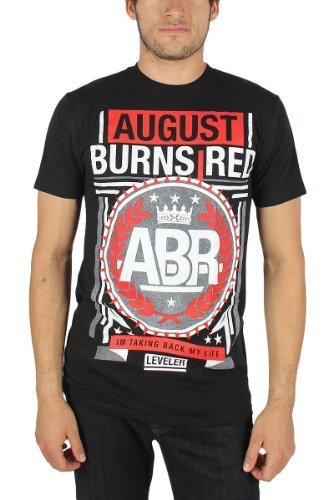 August Burns Red - Crown Soft T-Shirt - Large - Black - August Burns Red-shirts