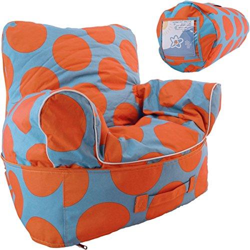 Kinder Sitzsack mit Armlehnen / Sessel (Wasserabweisend - Für Drinnen und Draußen)