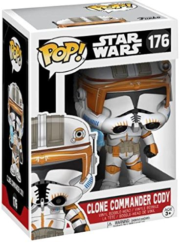 Commander Wars Star Cody (POP! Star Wars: Clone Commander Cody)