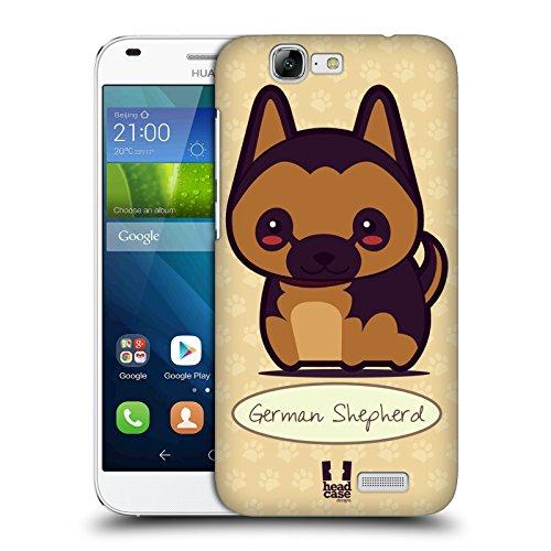 Head Case Designs Pastore Tedesco Cani Fantastici Cover Retro Rigida per Huawei Ascend G7