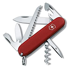 DELETE - Couteau Suisse Victorinox Camper 3.3613 Rouge - 13 Fonctions