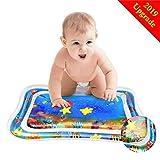 DazSpirit Tapis deau Bebe, Tapis d'eau Gonflable de Bébé Tummy Time bébé Patted Pad BPA Free pour bébé Stimulant la Croissance et Le développement