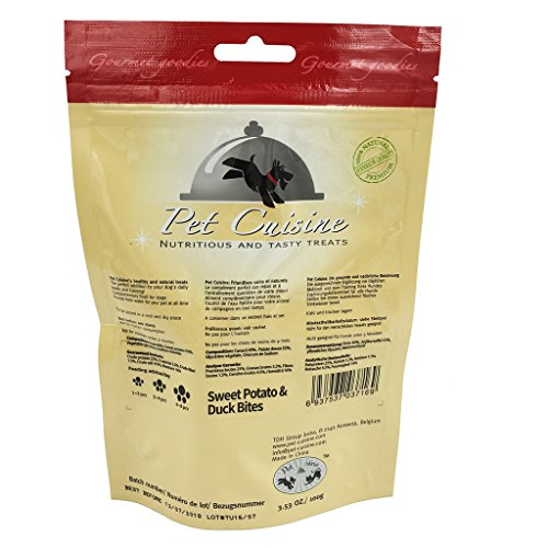Pet-Cuisine-Dog-Training-Snacks-Puppy-Chews-Jerky-Treats-Sweet-Potato-Duck-Bites-100g
