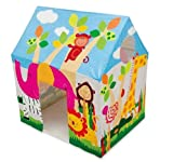 Intex Kids House Tent Playhouse - Fun Cottage for Indoor or Outdoor Activity
