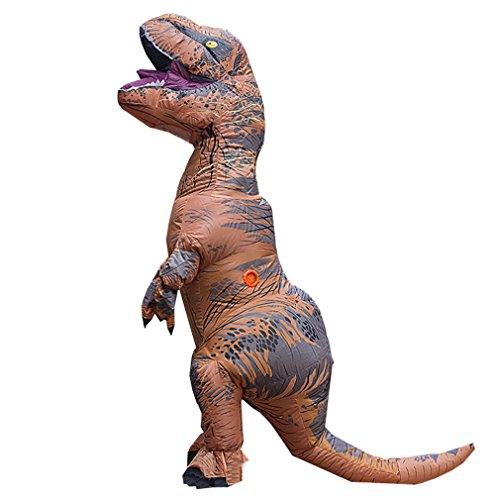 T-REX Costume gonflable dinosaure costume Pour Anime Expo traje de dinosaurio inflable Blowup disfraces adultos costume pour adulte Halloween Costume pour Femmes Hommes, Christams Costume De Mascotte