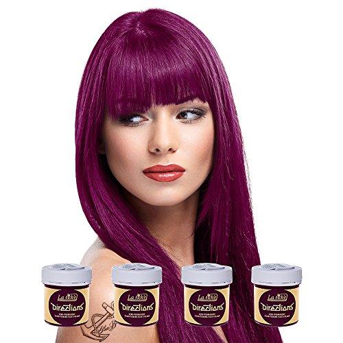 La Riche Directions Colour Haartönung 4er Pack (Dark Tulip)