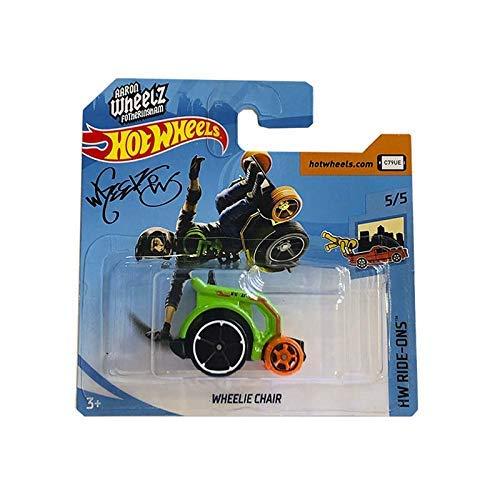 n Wheelz Fotheringham Wheelie Chair Green 5/5 HW Ride-Ons 65/250 (Short Card) ()