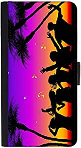 Snoogg Party Night Designer Protective Flip Case Cover For Htc M9