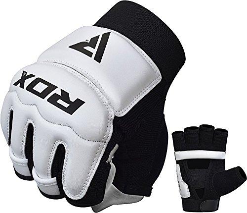 RDX Taekwondo Handschuhe Boxsack WTF Handschutz TKD Boxen Sparring Kampfsport Gloves Sparring Freefight Punchinghandschuhe
