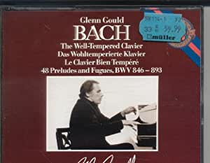 J.S. Bach: The Well-Tempered Clavier (Complete) 48 Preludes and Fugues BWV 846-893 [BOX SET]