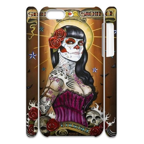 LP-LG Phone Case Of Sugar Skull For Iphone 4/4s [Pattern-6] Pattern-6