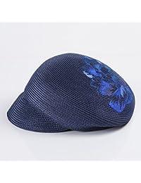 MuMa Viseras Protección Solar Ms Leisure Cap Holiday Sombrero De Paja Sun  Hat Black cd2556a9997