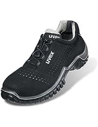 Uvex 1 zapatos 8511,8 S1 SRC ancho 11, color, talla 46