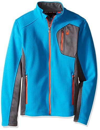 Spyder Herren Bandit Full Zip Lt Wt Jacke 480 Electric Blue/Polar/Rage