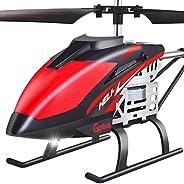GoStock Helicóptero de Control Remoto Helicóptero RC de 2,4 GHz con retención de altitud, despegue/Aterrizaje