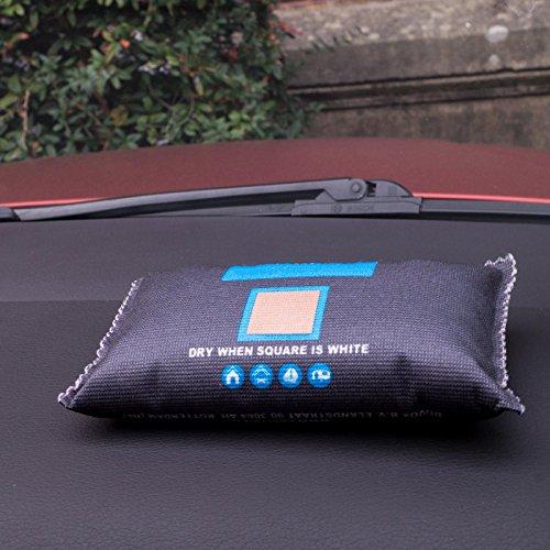 Preisvergleich Produktbild Auto- Luftentfeuchter, Luftreiniger, Geruchsentferner, Geruchsneutralisierer, Lufterfrischer, Raumerfrischer, Anit-Scheiben-beschlag, Wiederverwendbar! Auto-Dress ®
