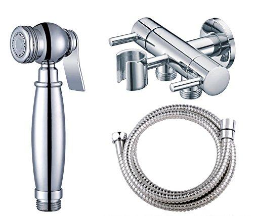 GFEI avec réglable douche / pour la chasse d'eau arme / douche pistolet pulvérisateur / douche con interrupteur avec trois couples de cuivre angle multi - fonction (longueur 1,5 m $),f