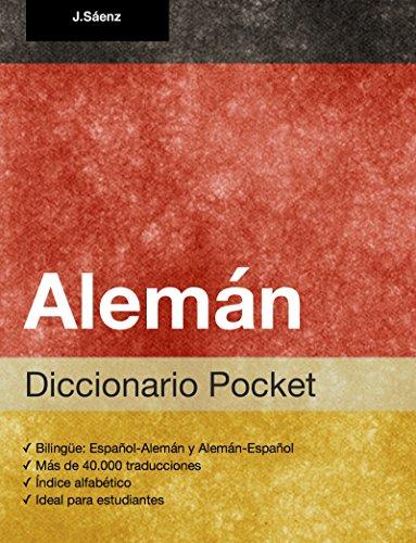 Diccionario Pocket Alemán por Juan Sáenz