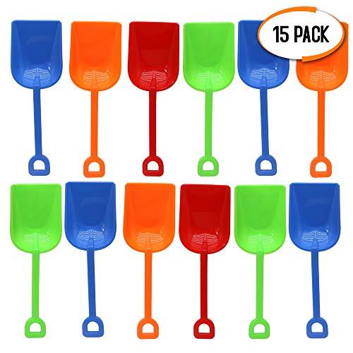 spielzeug Schaufel, 23cm - Perfekt für Kinder, Kleinkinder, Strandspielzeug, Park, Garten, Sandkasten, Sandboxen. ()