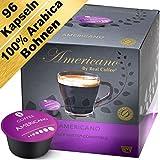 Americano/Grande - 96 Dolce Gusto kompatible Kapseln - Real Coffee (6er-Pack mit 96 Kaffeekapseln)