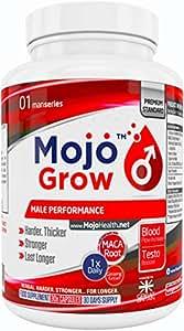 MOJO™ Grow - 30x Sexual Performance Enhancement Supplement | Male Virility Pills + Money Back Guarantee