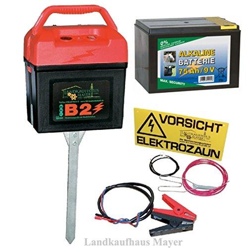 *Weidezaungerät 9V 12V 230V inkl. Batterie!!! Weidezaun*