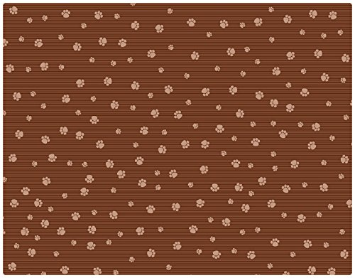 Artikelbild: Drymate Ex Large Cat Litter Box Mat with Paw Imprint Design, 28-Inch by 36-Inch, Tan by Drymate