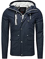 Geographical Norway - Veste Geographical norway homme Veste Artichow bleu marine - Bleu