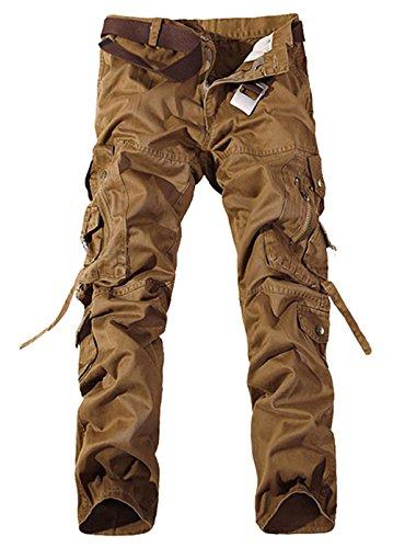 Indicode Homme Vintage Pantalon Cargo Chino Ranger 5851 Levi Cargo INDI 5851 5660ce77c6c