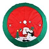 100cm Albero di Natale gonna Xmas gonna per Albero di Natale gonne per alberi di Natale
