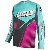 Uglyfrog 2018 Ropa de Descenso MTB Manga Larga Maillot de Ciclismo Moto Cross Enduro Downhill Jersey