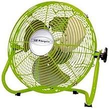 Orbegozo PW 1530 - Ventilador industrial Power Fan profesional, potencia 50 W, 3 velocidades, diámetro hélice 30 cm, color verde
