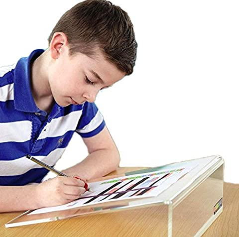 Inxact Sloped Writing Board for Children Multi-fuctional Use Stand Holder