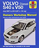 Volvo S40 & V50 Diesel (07 - 13) Haynes Repair Manual