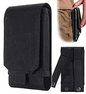 Urvoix(TM) Housse Sac pour Portable - Étui Coque Sport Velcro Ceinture Taille L