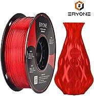 Filament 1.75mm PETG, PETG Filament ERYONE pour imprimante 3D,1KG, 1 bobine