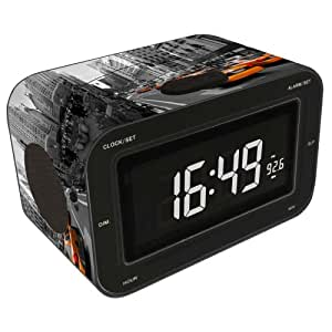 bigben rr30 radio alarm clock new york taxi tv. Black Bedroom Furniture Sets. Home Design Ideas