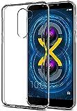 eCosmos    Lenovo K8 Note   Flexible Ultra Slim Premium Silicone TPU Transparent Soft Back Cover Case for Lenovo K8 Note (White)