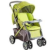 Spaziergänger können tragbare Licht Liege Buggy Babyauto walker Falten Dual Sommer und Winter hohe Landschaft Kinderwagen sitzen ( farbe : A )