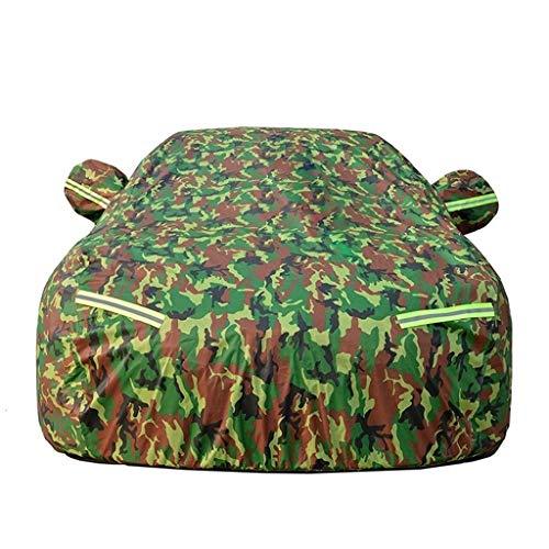 QZZQ Abdeckplane Auto Vier Jahreszeiten Universal, Wasserdicht Staub Kratzen Dauerhaft Baumwolle Gefüttert Zum Automobile Innen Draussen (Size : 3M)