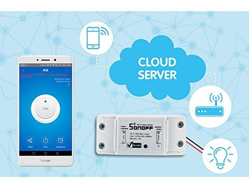 VIGICA Sonoff Smart Home WiFi Fernbedienung Drahtlos Strom Schalter ...