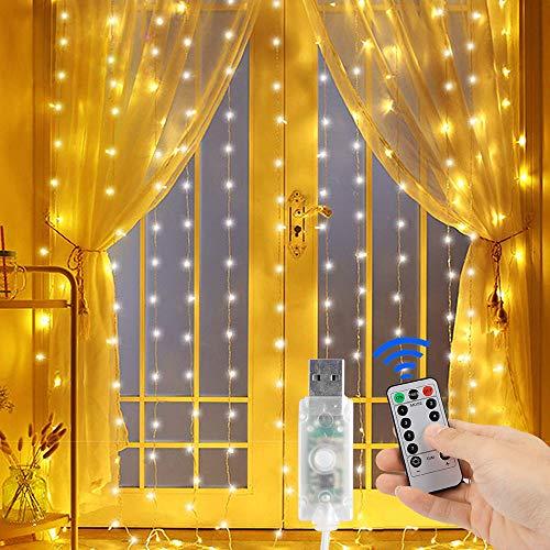 300 LED Curtain...