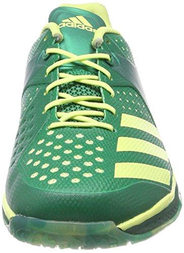 new styles eead2 99d42 adidas Counterblast Q21092 Herren Handballschuhe Grün (Bold GreenSemi  Frozen YellowCollegiate Green