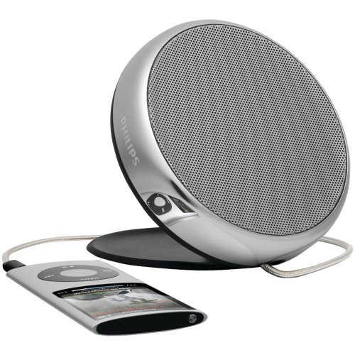 Philips SBA1700/37 MP3 Portable Speaker SBA1700 Universal (Grey)