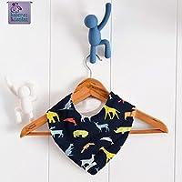 Babero bandana Origami Colores. Para bebés, niños y adultos con necesidades especiales. P_148. ***ENVÍO GRATUITO A ESPAÑA***
