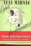 Jean marsac, le plus vache des chansonniers dans son repertoire ! [Broch_] by...