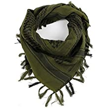 KT SUPPLY Echarpe Homme camouflage, Foulard Multifonction Unisexe Châle  Arabe Enveloppement de Tête Keffieh Militaire 770570b2378